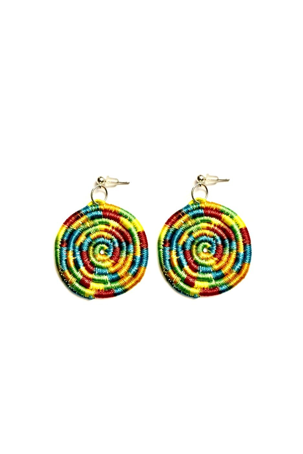 Love S Hangover Creations Rainbow Earrings Front Cropped Image