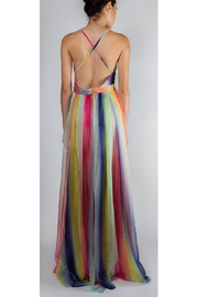 luxxel Rainbow Enchantress Gown - Back cropped