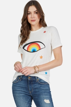 Lauren Moshi Rainbow Eye Tee - Product List Image