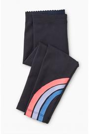 Tea Collection Rainbow Graphic Baby Leggings - Front cropped