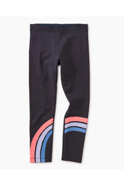 Tea Collection Rainbow Graphic Leggings - Front full body