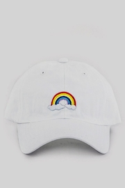 Pickles & Olive's Rainbow Hat - Front cropped