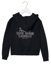 SPIRITUAL GANGSTER Rainbow Hoodie - Front cropped