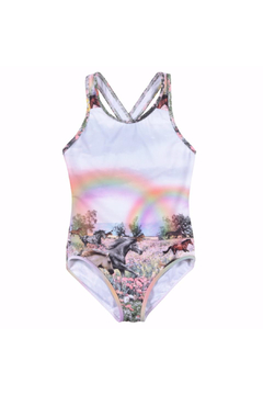 Shoptiques Product: Rainbow Horses One Piece Swimsuit