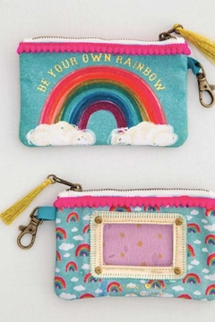 Natural Life Rainbow Id Pouch - Alternate List Image