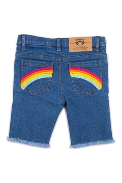 Appaman Rainbow Jean Shorts - Product List Image