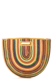 Fabulous MJ New York  Rainbow Jute Handle Bag - Product Mini Image