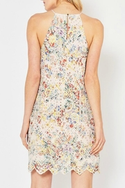 Pretty Little Things Rainbow Lace Dress - Front full body