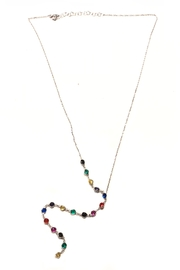 Lets Accessorize Rainbow Lariat Necklace - Product Mini Image