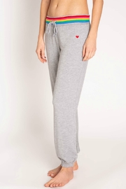 PJ Salvage Rainbow lounge pant - Front full body