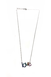 Lets Accessorize Rainbow Love Necklace - Product Mini Image
