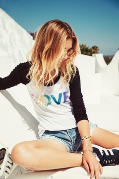 Chaser Rainbow Love Tee - Alternate List Image