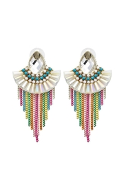 Madison Avenue Accessories Rainbow Lux Earring - Front cropped