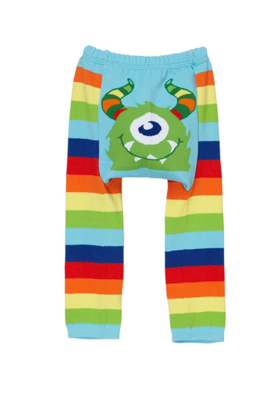 Doodle Pants Rainbow Monster Leggings - Front Full Image