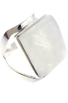 Crystal Earth Rainbow Moonstone Ring... - Product List Image