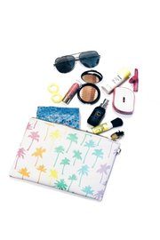 Stoney Clover Lane Rainbow Palm Tree Pouch - Product Mini Image