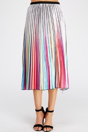 Salt Rainbow Pleated Skirt - Product Mini Image