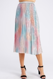 On Twelfth Rainbow Pleated Skirt - Front cropped