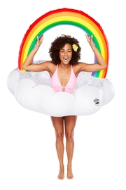 BigMouth Inc Rainbow Pool Float - Product Mini Image