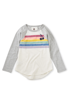 Shoptiques Product: Rainbow Raglan Graphic Tee