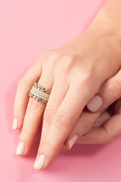 Jaimie Nicole Rainbow Ring - Alternate List Image