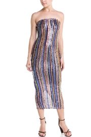 Uptown Rainbow Sequin Dress - Product Mini Image