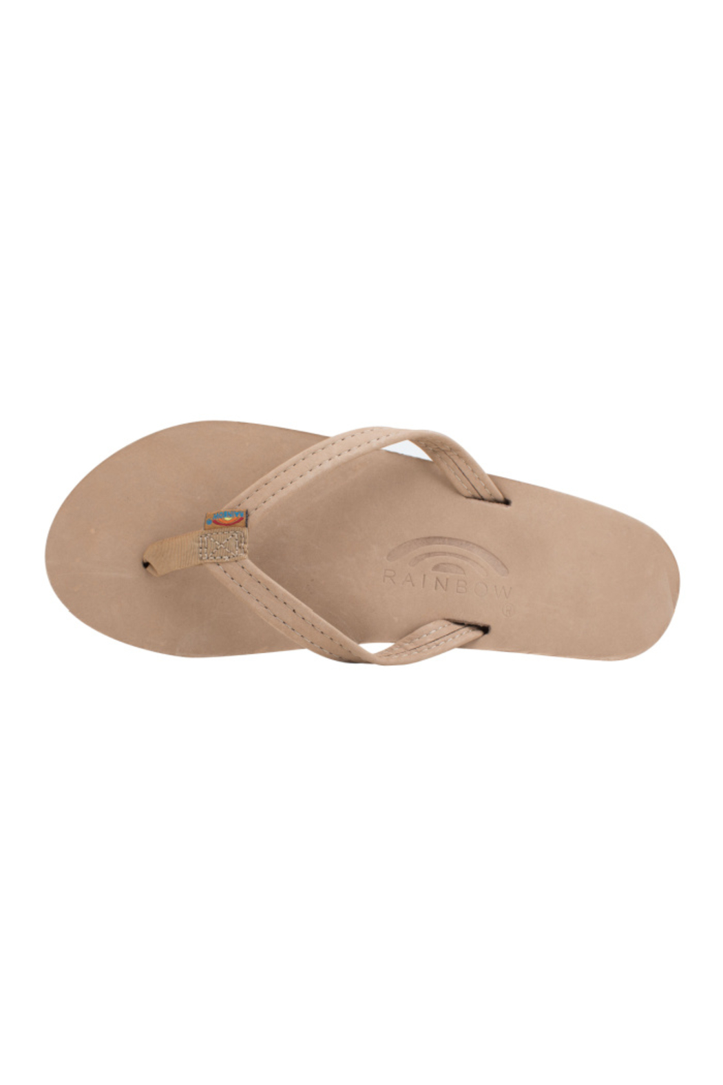 Rainbow Women's Single Layer Premier Leather with Arch Support - Front Full Image