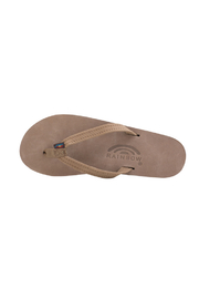 Rainbow Women's Single Layer Premier Leather with Arch Support - Front full body