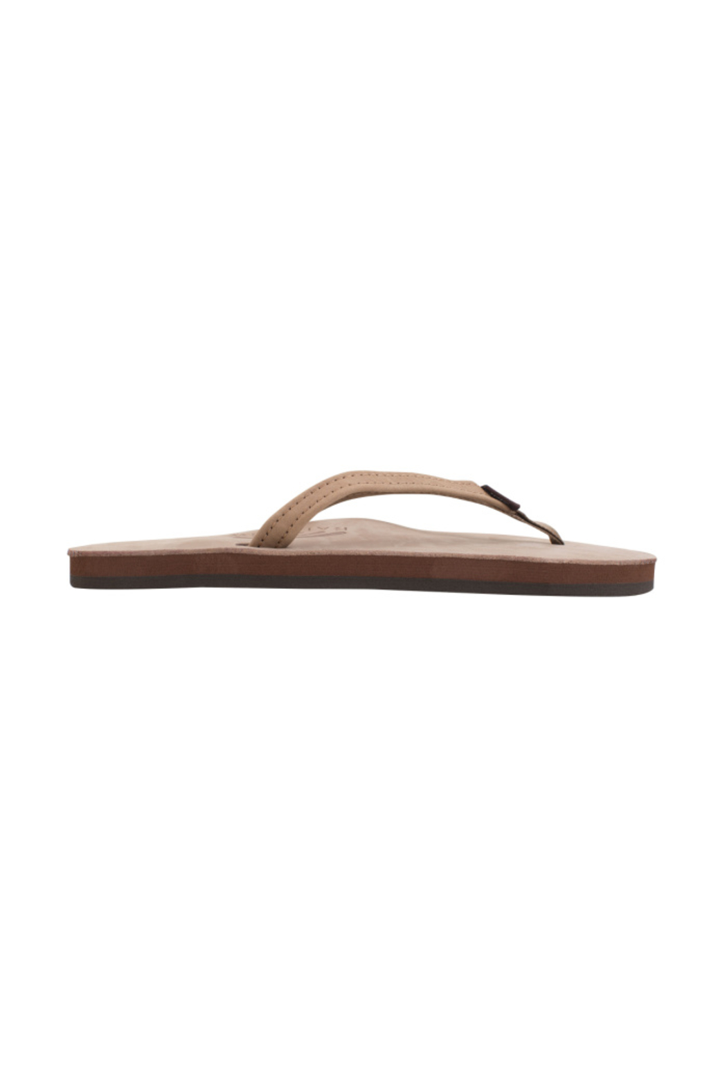 Rainbow Women's Single Layer Premier Leather with Arch Support - Front Cropped Image