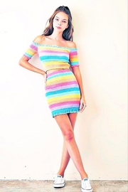CRIV Rainbow Skies Skirt - Front cropped