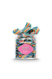 Candy Club Rainbow Sour Belts 5 oz - Product Mini Image