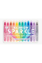 Ooly Rainbow Sparkle Watercolor Gel Crayons - Product Mini Image