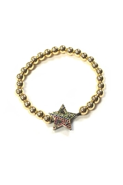 Lets Accessorize Rainbow Star Bracelet - Product Mini Image