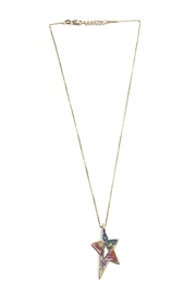 Lets Accessorize Rainbow Star Necklace - Product Mini Image