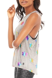 Terez Rainbow Star Tank - Side cropped