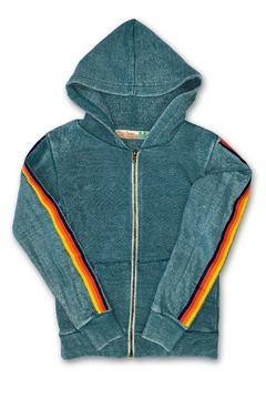 Shoptiques Product: Rainbow Stripe Hoody