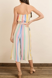 dress forum Rainbow Stripe Jumpsuit - Back cropped