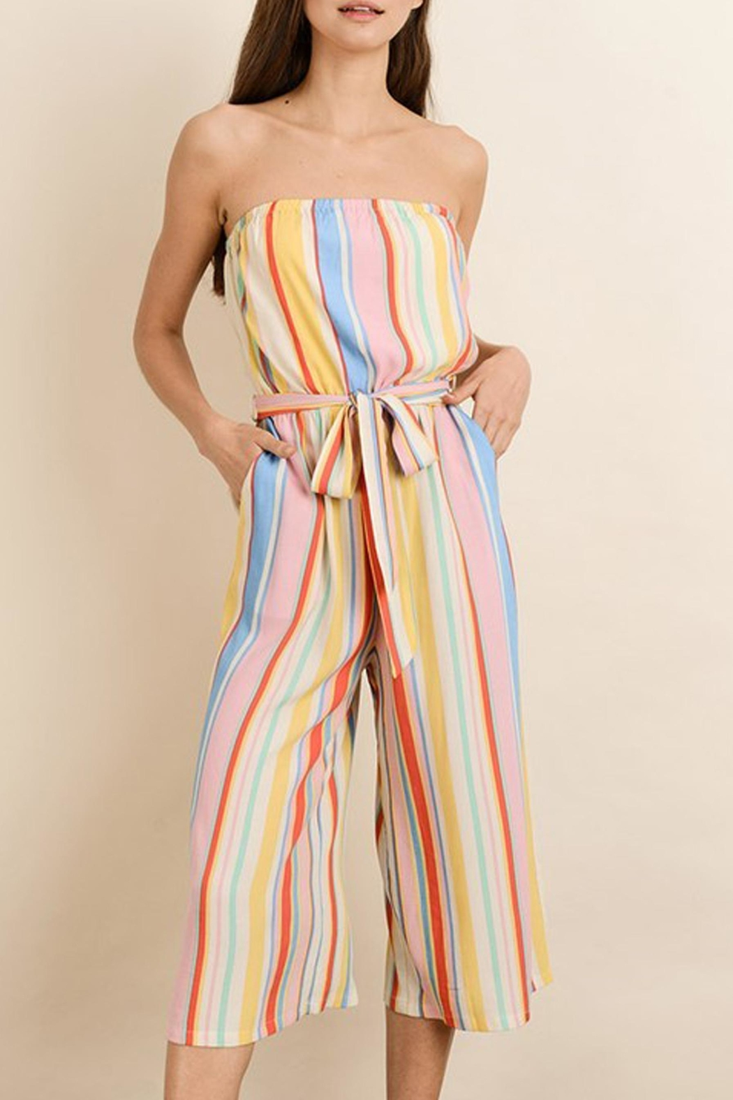 dress forum Rainbow Stripe Jumpsuit - Main Image