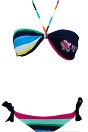 beach joy RAINBOW STRIPE REVERSIBLE BIKINI - Product Mini Image