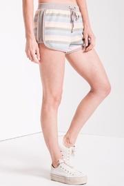 z supply Rainbow Stripe Shorts - Side cropped