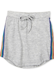 Erge Rainbow Stripe Skirt - Front cropped