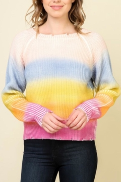 Timing Rainbow Stripe Sweater - Product List Image