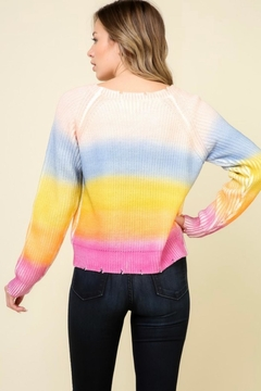 Timing Rainbow Stripe Sweater - Alternate List Image