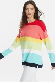 525 America Rainbow Stripe Sweater - Product Mini Image