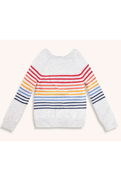 Splendid Rainbow Stripe Sweater - Alternate List Image