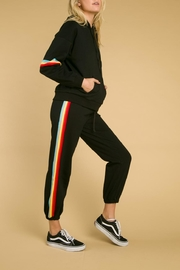 Wild Honey Rainbow Stripe Sweatshirt - Product Mini Image