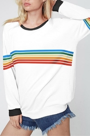 Fantastic Fawn Rainbow Stripe Top - Product Mini Image