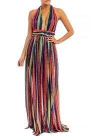 luxxel Rainbow Striped Gown - Product Mini Image
