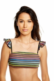 Chaser Rainbow Stripes Top - Product Mini Image