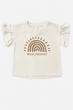 Rylee & Cru Rainbow Sun Flutter Tee - Alternate List Image